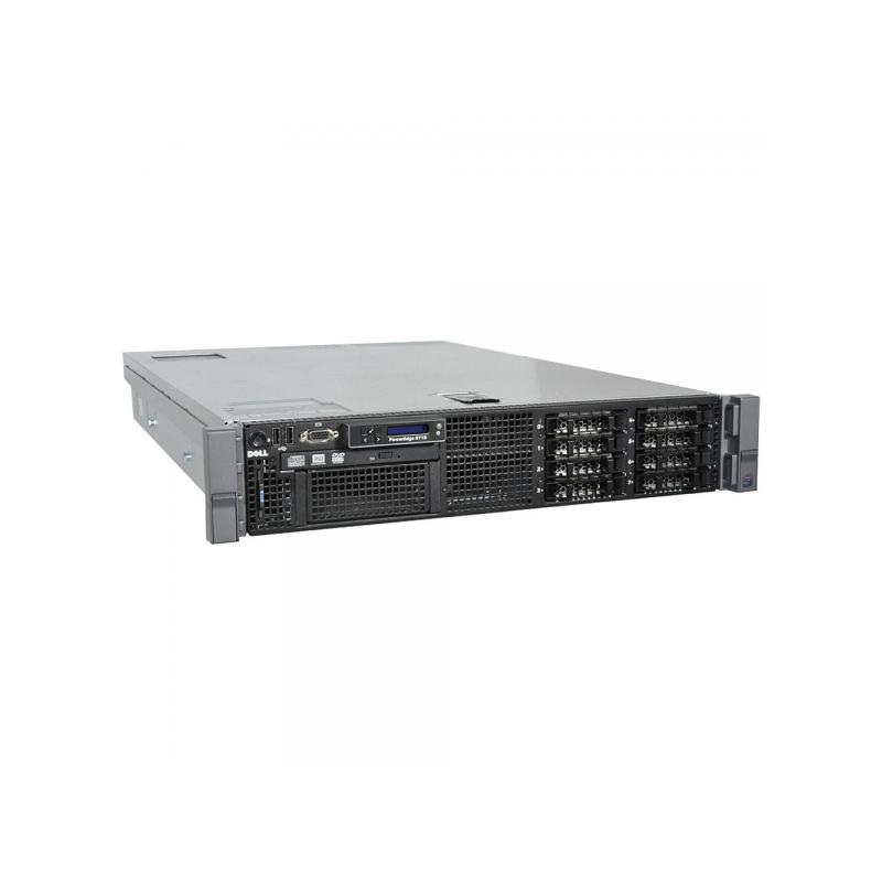 Server DELL PowerEdge R710, 2 Procesoare Intel Quad Core Xeon L5520 2 26  GHz, 6 bay-uri 3 5 inch, iDRAC 6 Ent